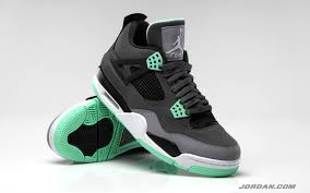 green glow 4 air 4 retro green glow release kicksaddict