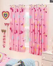 butterflies children u0027s curtains for girls ebay