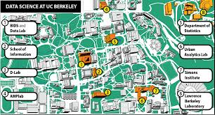 Berkeley Map The First Rule Of Data Science The Berkeley Science Review