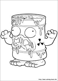 www coloring book coloring trash pack trash