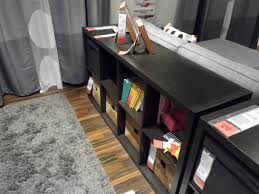Sofa Table Decor by Ikea Kallax Used To Be Expedit Cube Bookcase As A Sofa Table
