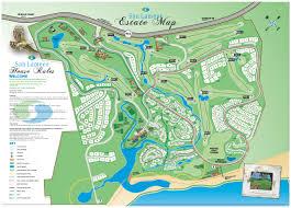 estate map maps san lameer villa sales