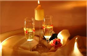 champagne candle light romantic love wallpapers