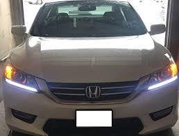 2014 honda accord led amazon com ijdmtoy 2 even illuminating headlight led daytime