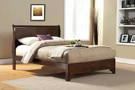 Sled Bed Frame Charming Sleigh Platform Bed Frame Activegift Me