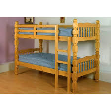 Pine Bunk Bed Chunky Pine Bunk Bed Frame Cheap Home Furniture