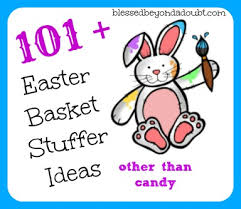 easter stuffers 101 easter basket stuffer ideas other than candy blessed