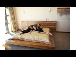 design modern platform bed youtube