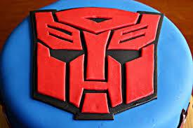 transformer cake of dessert tutorial transformers autobot cake