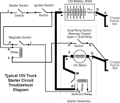 starter schematic diagram circuit and schematics diagram
