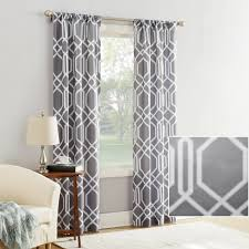Walmart Mainstays Curtains Mainstays Watson Textured Curtain Panel Walmart Com