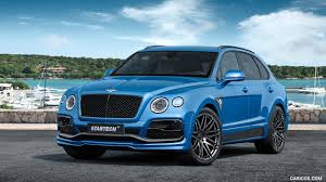 2017 startech bentley bentayga front three quarter hd wallpaper 1