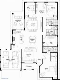 modern 1 story house plans best of house plans 1 story new single story house plan