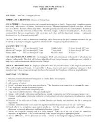 sample resume emergency room nurse