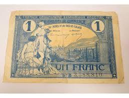 chambre de commerce de calais billet un franc chambre de commerce nord pas de calais 1925