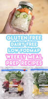 Food Map Diet Meal Prep Recipes Breakfast Lunch U0026 Dinner Gluten Free Low
