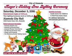 mayor s tree lighting ceremony city of alameda