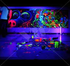 glow paint uv black light neon glow paint 1 gallon club
