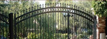 fetching wrought iron fence ornaments for fence gate