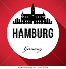 logo design hamburg vector graphic design hamburg city skyline stock vector 504290611