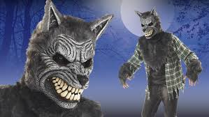 Werewolf Mask Full Moon Werewolf Costume