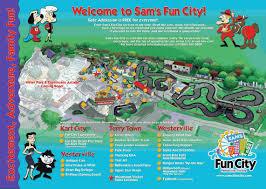 Florida Attractions Map Sams Fun City Florida Amusement Parks Com
