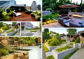 Restaurant Patio Planters by Exterior Wonderful Landscaping Ideas For Front Of House Offer