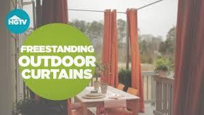 deck privacy curtains video hgtv
