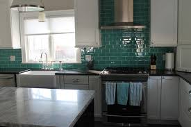 Glass Tile Backsplashes Traditional Kitchen Columbus By My - Teal glass tile backsplash