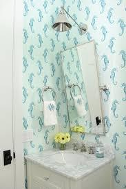 279 best wallpapered bathroom images on pinterest bathroom ideas