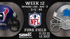 nfl free picks 2012 week 12 thanksgiving houston texans vs