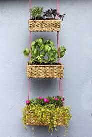 diy ify 14 clever outdoor diy u0027s hanging basket garden garden