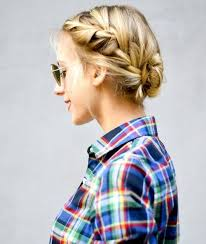 how to braid hair with middle part 40 two french braid hairstyles for your perfect looks