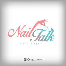 تصميمنا لشعار صالون أظافر نيل توك nailtalk salon our