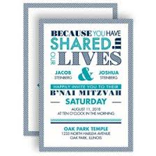 bar and bat mitzvah invitations invitations by