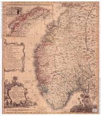 Map Of Norway File Map Of Norway 1761 Complete Jpg Wikimedia Commons