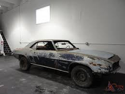 camaro rs z28 barn find project very rare