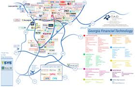 Map Of Atlanta Ga Atlanta U0027s U0027transaction Alley U0027 Us Payment Processing Capital