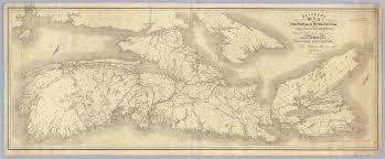 Map Of Nova Scotia Belcher U0027s Map Of The Province Of Nova Scotia Including The Island