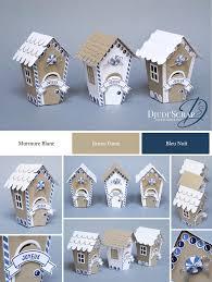stampin u0027up by djudi u0027scrap décoration petites maisons noël