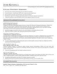 Sle Good Resume Objective 8 Exles In Pdf Word - resume exles templates free best exles of college application