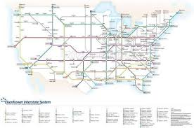 map us interstate system u s interstates as a map smart city