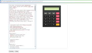 input output tables calculator free custom calculator and firework gadget code for blogger ship