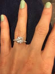 thin band engagement ring thin band engagement ring weddingbee maybe one day