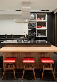 modern wooden kitchens captivating kitchen islands with stools of contemporary kitchen