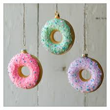 frosted donut ornaments illustration inspiration