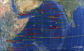 Indian Ocean Map Emergency Map Of Recent Pirate Attacks Across The Indian Ocean