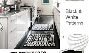 Black And White Striped Kitchen Rug Exquisite Kitchen Flooring Choice As Per Use Ideas On Black And
