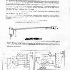 garage door opener wiring diagram quantum sensors garage door