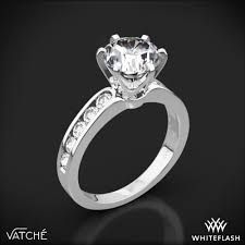 channel engagement ring vatche 6 prong channel engagement ring 3338